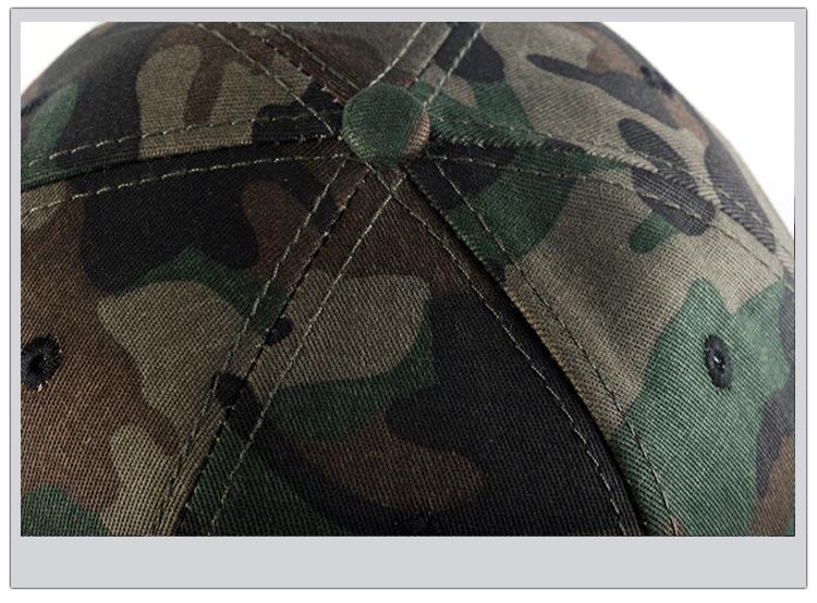 Camouflage hip-hop hat baseball hat man (9)