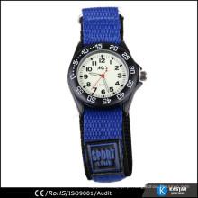 Relógio de cinta tecida relógio pequeno esporte para crianças