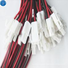 Chicote de fios do fio 2pin do passo 3.96mm