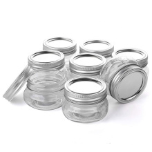 Mini Mason Jars 4 oz Round Candy Jelly Canning Glass Storage Jars With Metal Screw Lids