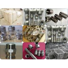Accesorios de tornillo de la tuerca del tubo de acero inoxidable 304