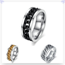 Bague à bijoux en bijoux en acier inoxydable (SR237)