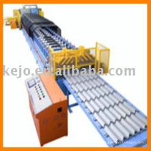 Color Tile Forming Machine with auto stacker
