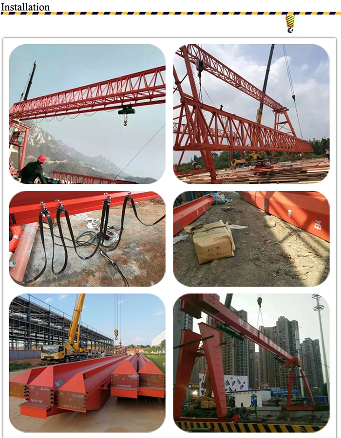20 Ton Electric Hoist Crane