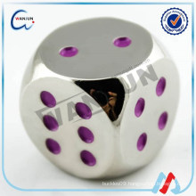 metal dice custom