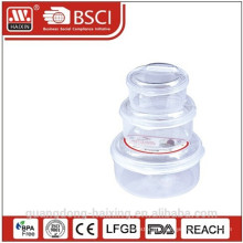 New! Plastic Food Container (3pcs)