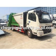 DFAC 6CBM Garbage Compactor Truck For Sale