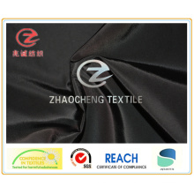 75D PU revestido semi forma de tecido de memória para vestuário (ZCGF101)