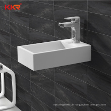 Europe And America Rectangle Luxury Hot Sell Sink Bathroom Wash Basin