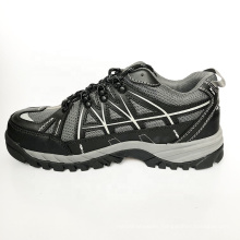 Wholesale Lightweight Genuine Leather Safety Shoes Men Black Safety Sport Shoes