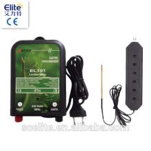Électrificateur de clôture de protection photovoltaïque, (54896629, Entrée de courant alternatif) Électrificateur de clôture électrique