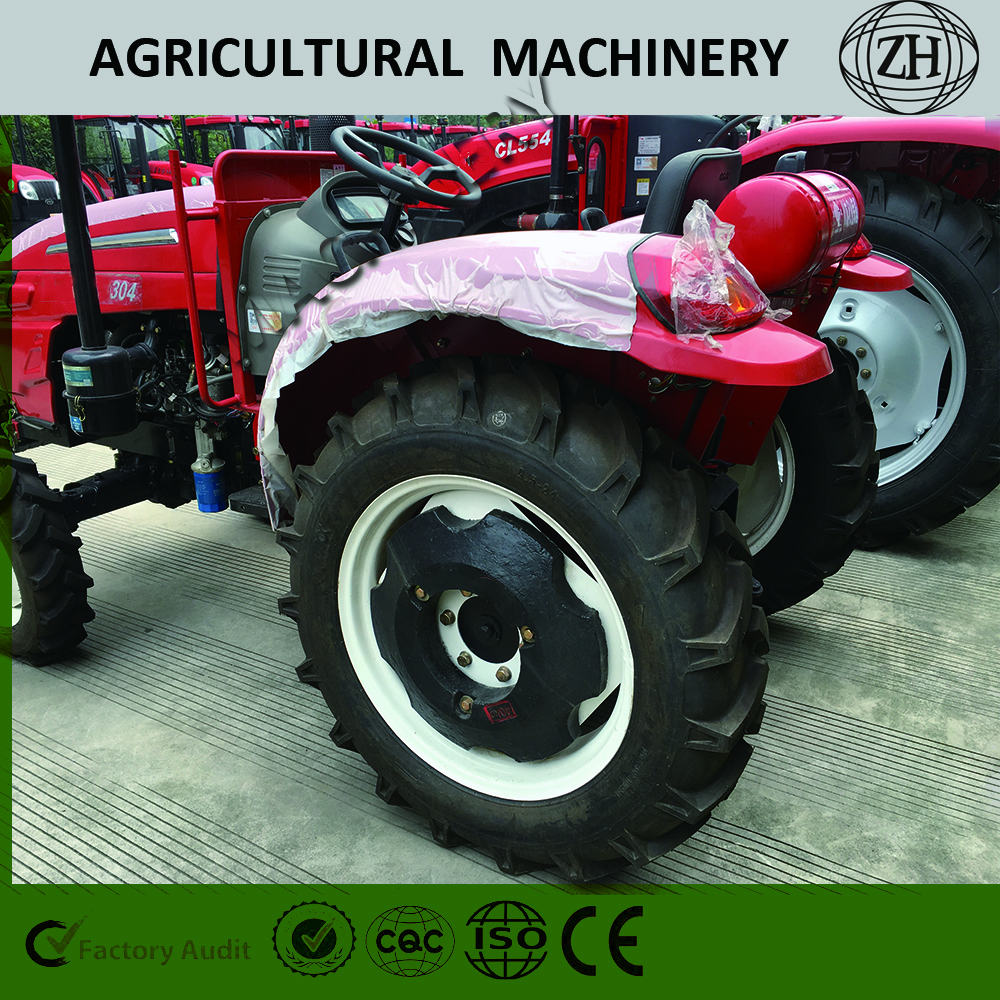 Factory Price 35HP Red Tractor for Farmland