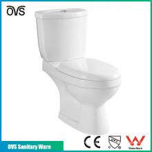 banheiro de alta qualidade cerâmica p-armadilha de duas peças banheiro wc banheiros