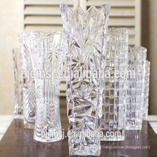 beautiful crystal vase for home decoration and wedding favor