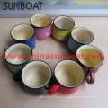 New Product Zakka Enamel Milk Cup/Ceramic Enamel Coffee Mug
