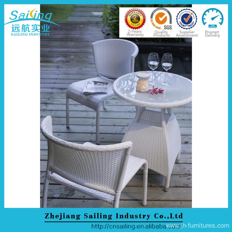 beige rattan bar stool cocktail catering aluminum bistro tab