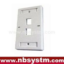 Face Plate 2 puerto, tamañoP: 70x115mm