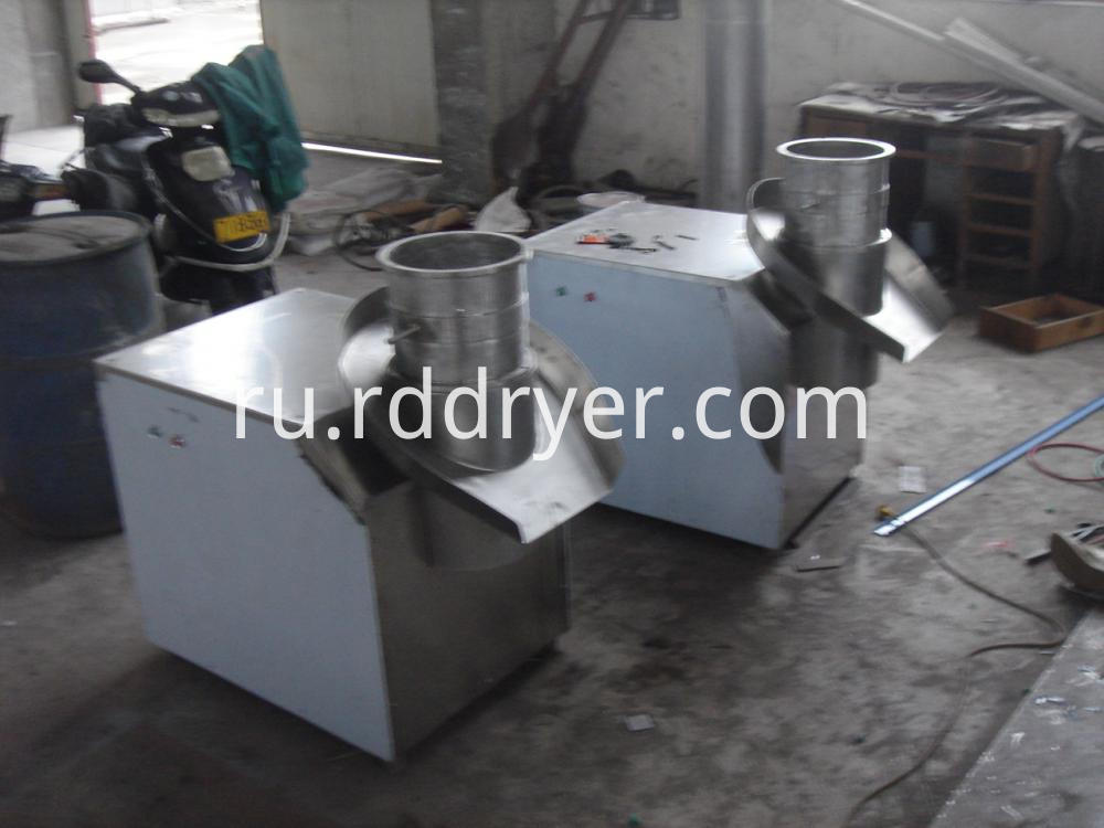 Revolving extruder granulating machine granulator for sweet-sour plum extract