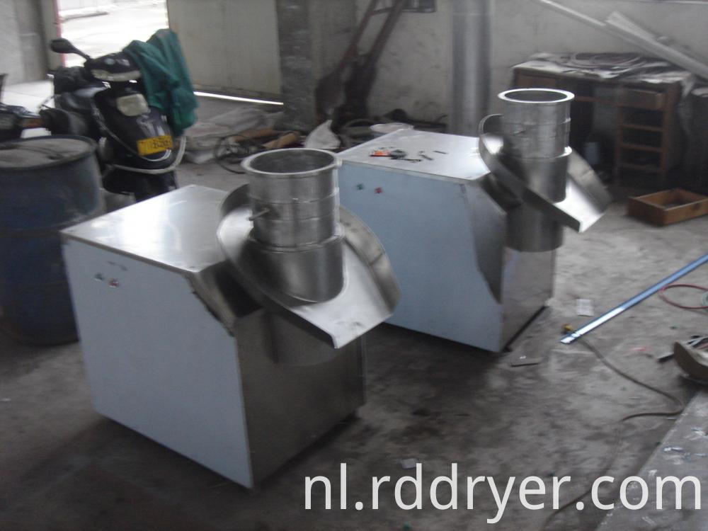 foodstuff industry granulating machine