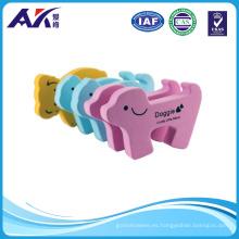 Pinza para los dedos de seguridad Cojín para los tapones de las puertas de espuma de animales de dibujos animados