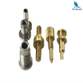 High Machining Parts Chrome Plated Brass Screw