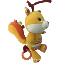 Squirrel Rattle Baby Toy