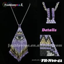 conjunto de joias de pérolas africanas FH-N60 em Fashionme