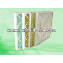 Filtro de aire de placa plegable