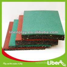 Outdoor Rubber Tile playground flooring LE.DD.001