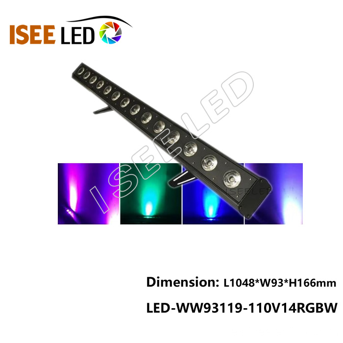 Decoración del edificio 1m 36w DMX Led Wall Washer