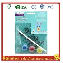 Ostern Kaninchen Wasser Farbe Farbe DIY Spielzeug