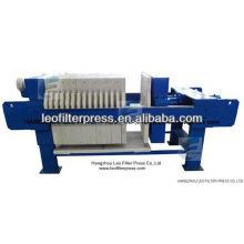 Prensa de filtro de prensa industrial con filtro Leo