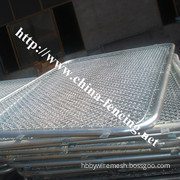 PVC Coated Chain Link Fence/Diamond Wire Mesh (BOYANG23)