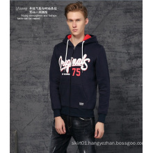 2015 New Fashion Winter Men′s Hoodies with Zipper (2015JK47-7)