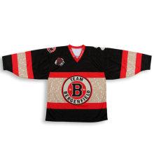 Haga su propio diseño Camisetas de hockey de equipo personalizado baratos y jerseys baratos de equipo de hockey y jerseys de hockey baratos
