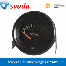 Terex dump truck spare psrts hydraulic oil pressure gauges 15308402