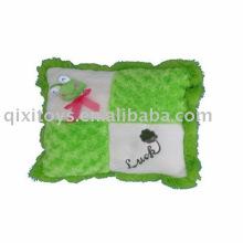 Plüsch & gefüllt Frosch Kissen, weiches Baby Tier Spielzeug