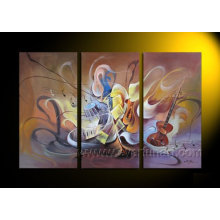 Modern Canvas Art Abstract Oil Painting (XD3-018)