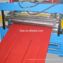 Cortar y cortar la máquina, corte a la longitud y la línea de corte