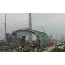 Conception préfabriquée de stockage de charbon de structure