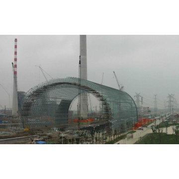 Estructura prefabricada Diseño de almacenamiento de carbón
