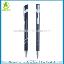 Popular hot sale metal retractable ballpoint aluminium pen