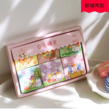 Diary Book Decoration Sticker of Gift Box Package