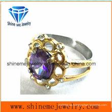 Joyería al por mayor de la venta al por mayor de los anillos del acero inoxidable
