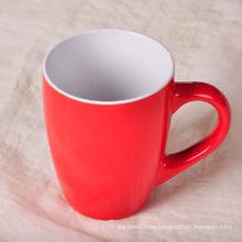 Taza modificada para requisitos particulares impresa su taza de té del café del logotipo para promocional