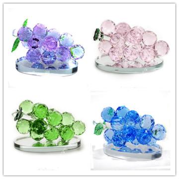 Haute qualité mariage décoration cadeau cristal verre raisins