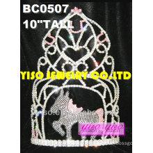 horse pageant tiaras