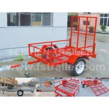 2014 ATV Anhänger pulverbeschichtet mit Rampe