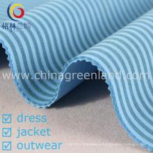 Полиэстер Rayon полоса Scuba ткань для одежды одежды (GLLML208)