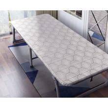 Cama plegable de madera del sofá de sol adicional plegable de acero de alta calidad del metal de la sala de estar de la alta calidad